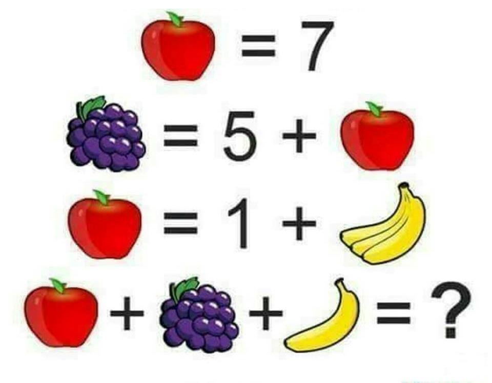 Apple is 7